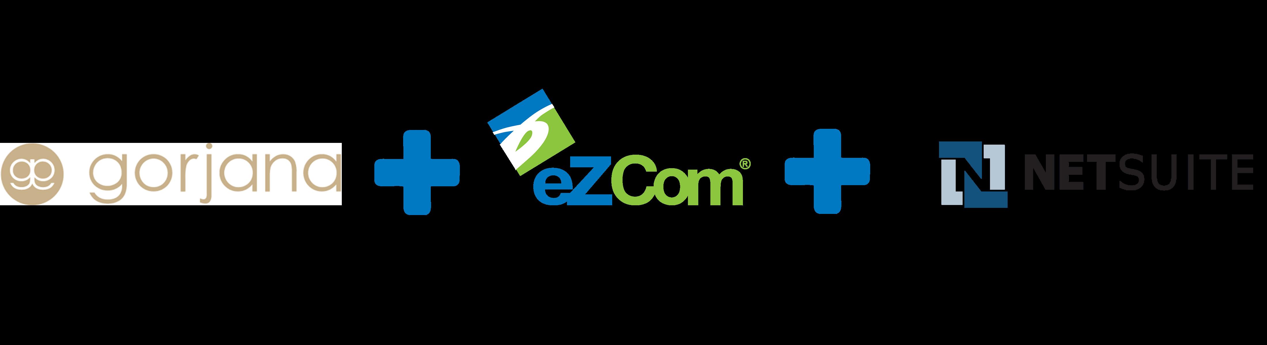 Gorjana plus eZCom plus NetSuite