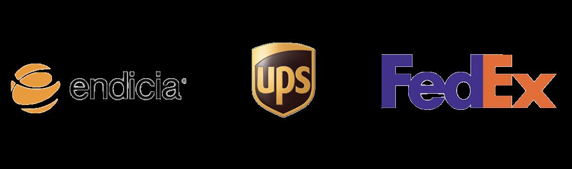 Endicia, UPS, FedEx