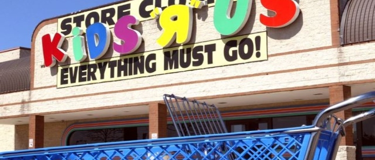 Toys R' US store front