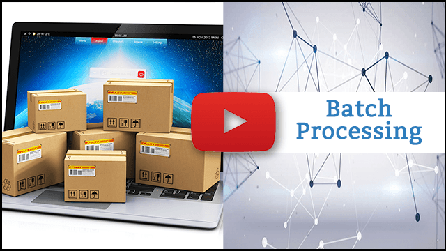 Video thumbnail for Batch Processing