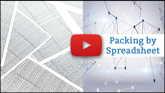 Video thumbnail for Packing by Spreadsheet