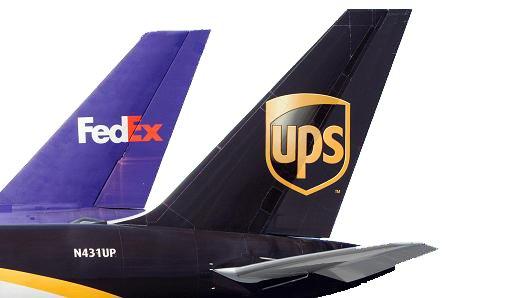 FedEx UPS plane