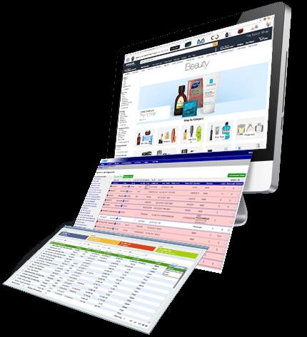 Amazon and Lingo on desktop