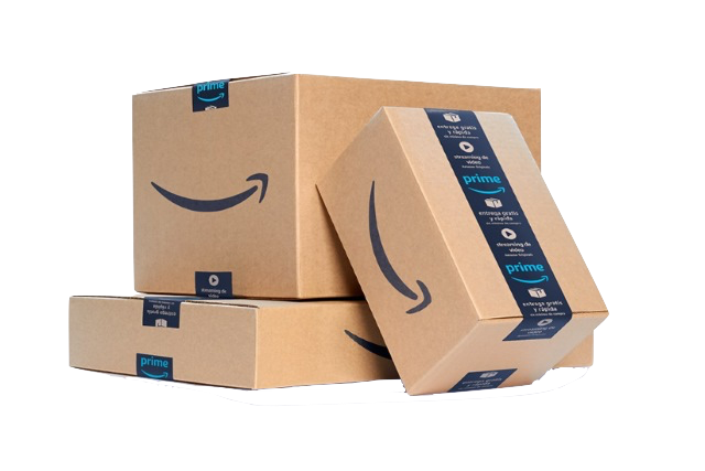 Packaged Amazon boxes