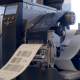 Shipping labels being printed
