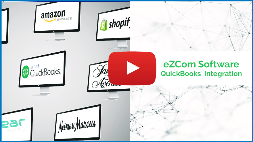 Video thumbnail of eZCom Software QuickBooks Integration