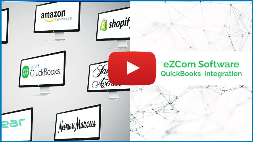 Video thumbnail of eZCom Software QuickBooks Integration