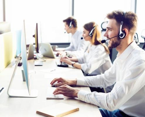 Customer support team