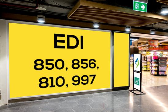 EDI 850, 856, 810, 997