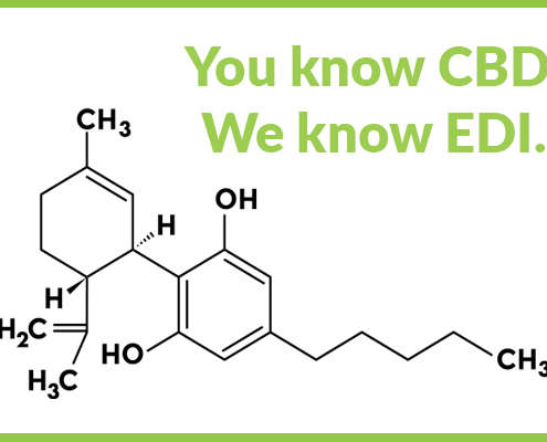 CBD Formula under Text that says You know CBD. We Know EDI.