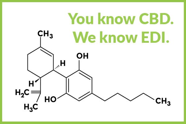 CBD Formula under Text that says You know CBD. We Know EDI.