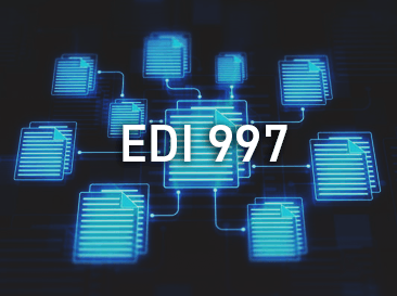 EDI documents with 997 written on it