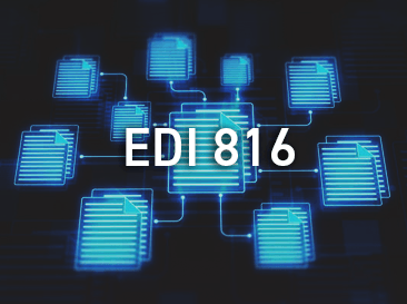 EDI documents with 816 written on them
