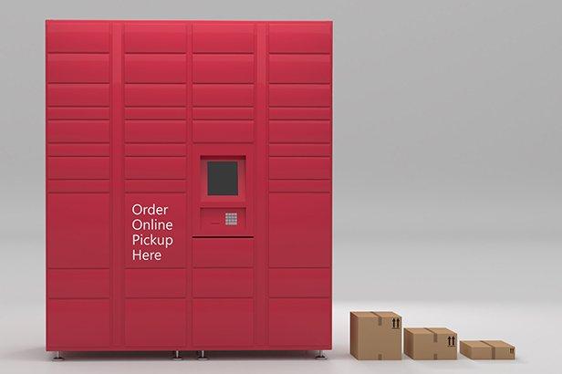 Package Pick Up Lockers